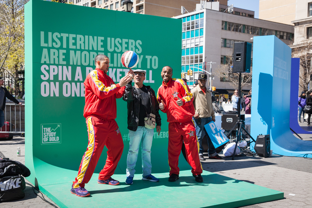 Listerine Experiential